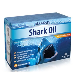 ALKAKAPS SHARK OIL CPS 30X500MG