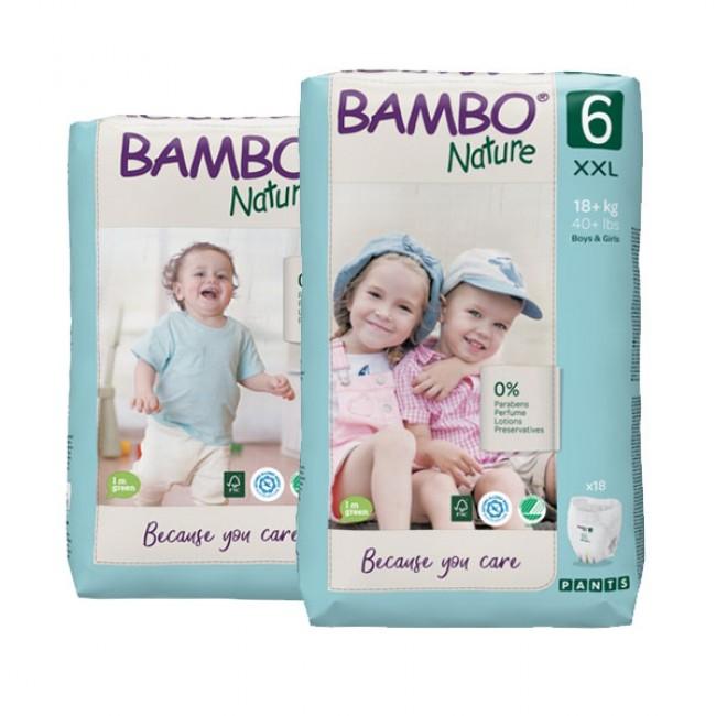 PELENE GAćICE BAMBO NATURE ECO FRIENDLY 6 A18