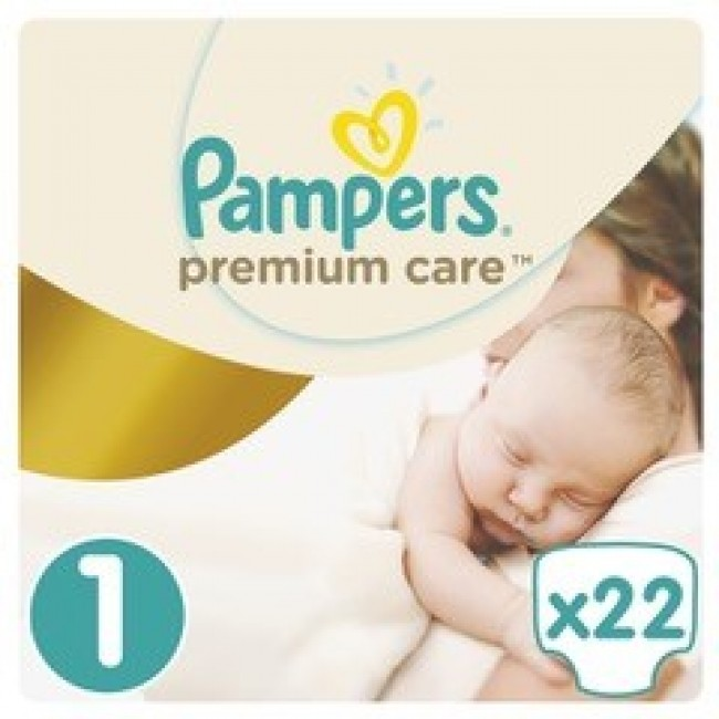 PAMPERS PELENE PREMIUM CARE 1 A22