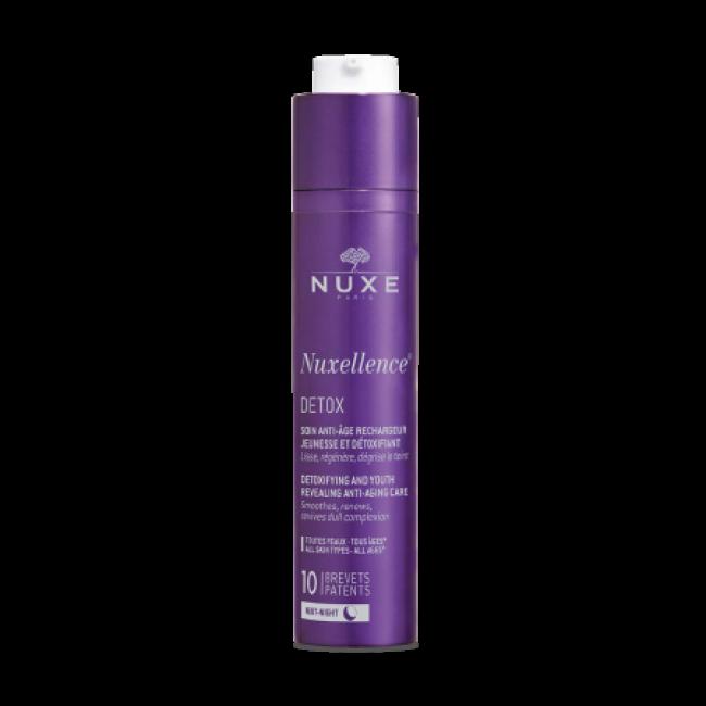 Nuxellence DETOX® Noćni anti-age fluid za detoksikaciju i podmlađivanje kože