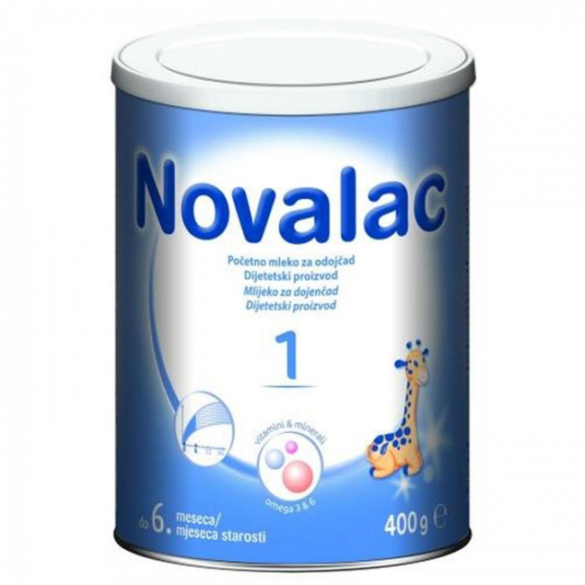NOVALAC 1 400G 0-6 MESECI