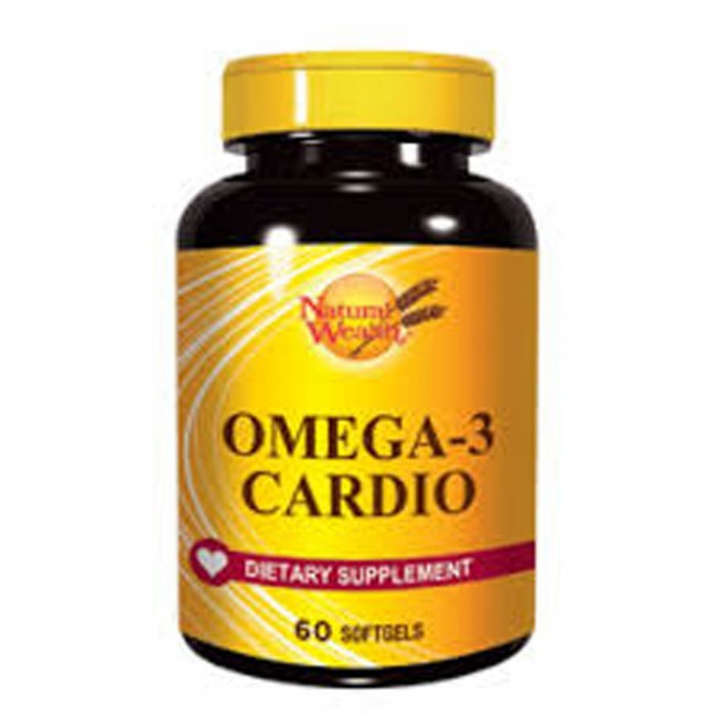 NATURAL WEALTH OMEGA-3 KARDIO KAPSULE A60