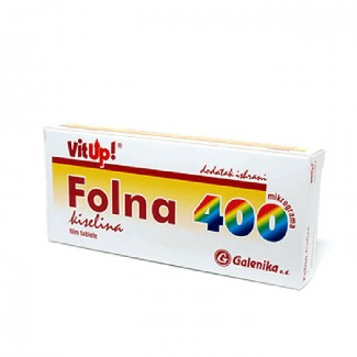 FOLNA KISELINA TBL 30X400MCG