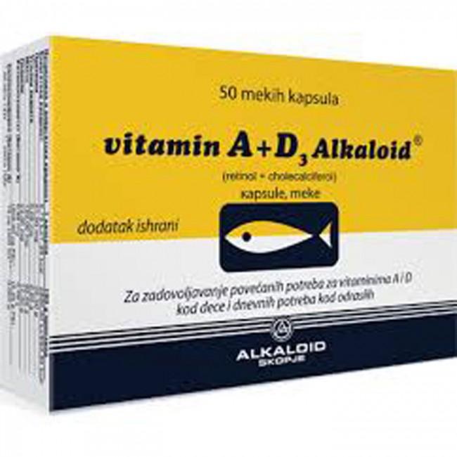 VITAMIN A+D3 CPS A50