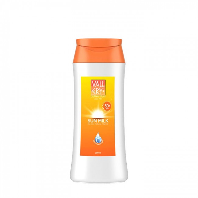 VALLERY SUN MILK SPF 50+ 200ML