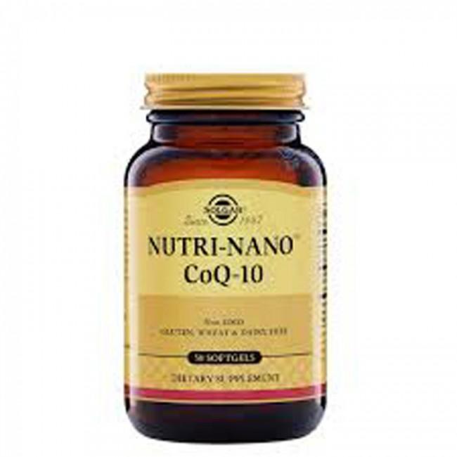 SOLGAR NUTRI NANO KOENZIM Q10 CPS A50