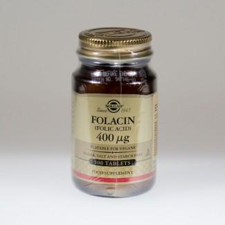 SOLGAR FOLACIN TBL A100
