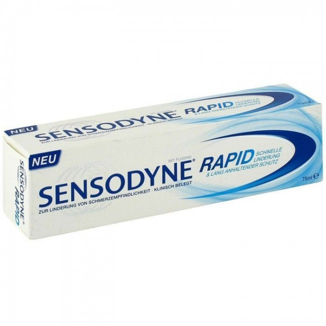 SENSODYNE RAPID PASTA 75ML