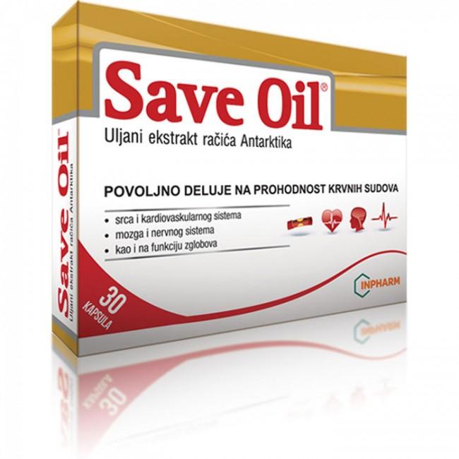 SAVE OIL 30X500 MG