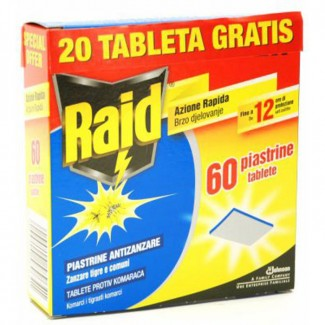 RAID TABLETE DUOPAK PROTIV KOMARACA A60