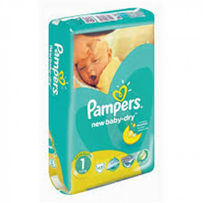 PAMPERS PELENE NEW BORN A43