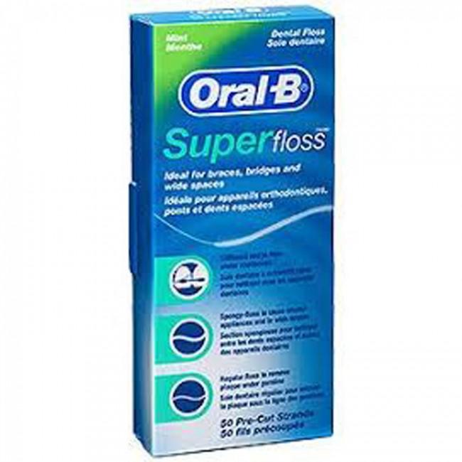 ORAL B KONAC SUPER FLOSS