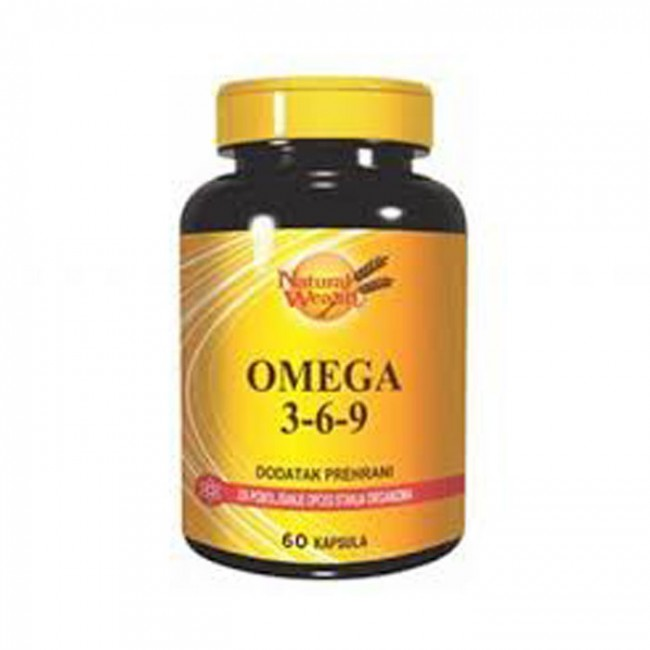 NATURAL WEALTH OMEGA 3-6-9 KAPSULE A 60