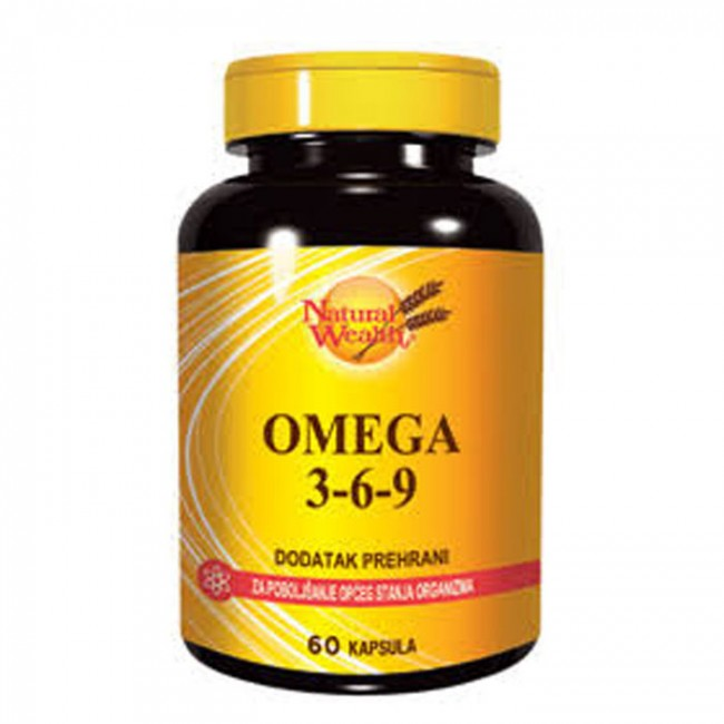 NATURAL WEALTH OMEGA 3-6-9 CPS A 60
