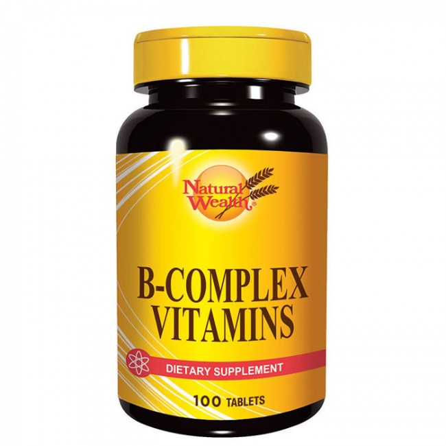 NATURAL WEALTH B-COMPLEX TBL A 100