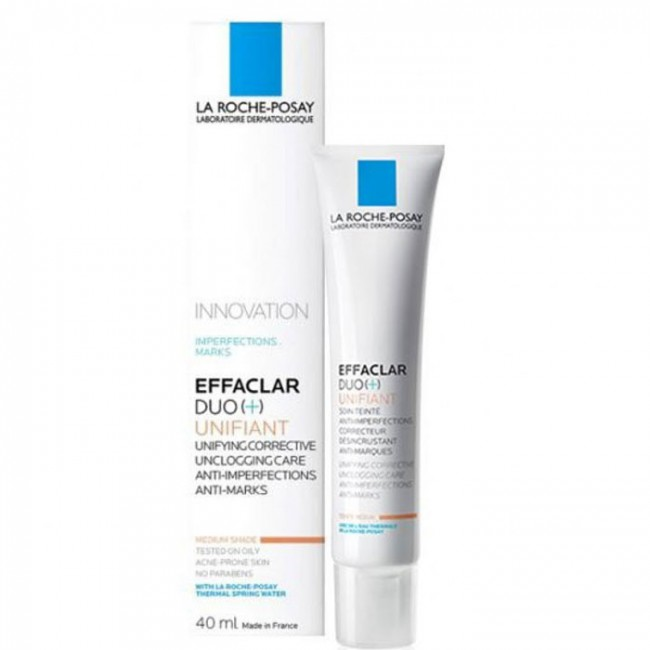 LA ROCHE POSAY EFF DUO+ UNIF MEDIUM 40ml