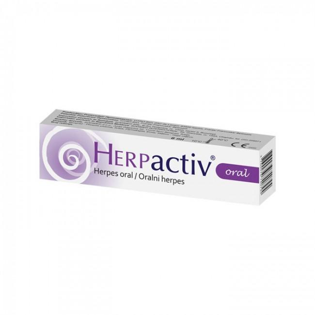 HERPACTIV ORAL 1X6ML