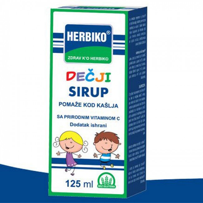 HERBIKO SIRUP ZA DECU 125ML