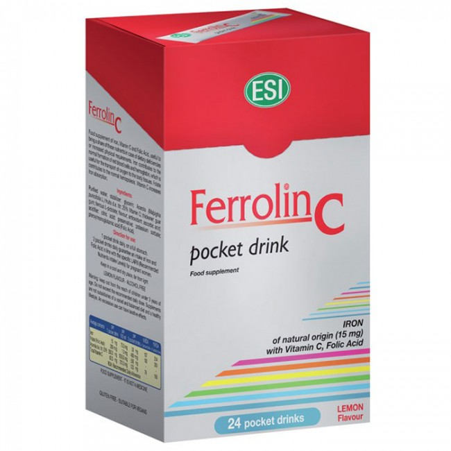FERROLIN C POCKET DRINK 24X20ML