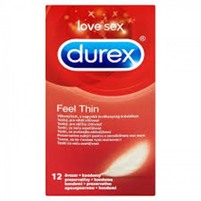 DUREX FEEL THIN A12