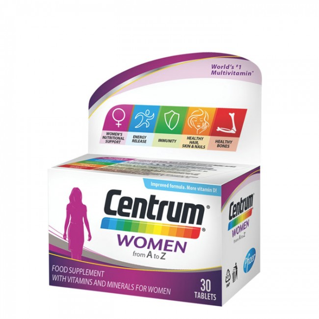 CENTRUM WOMEN TABL A30