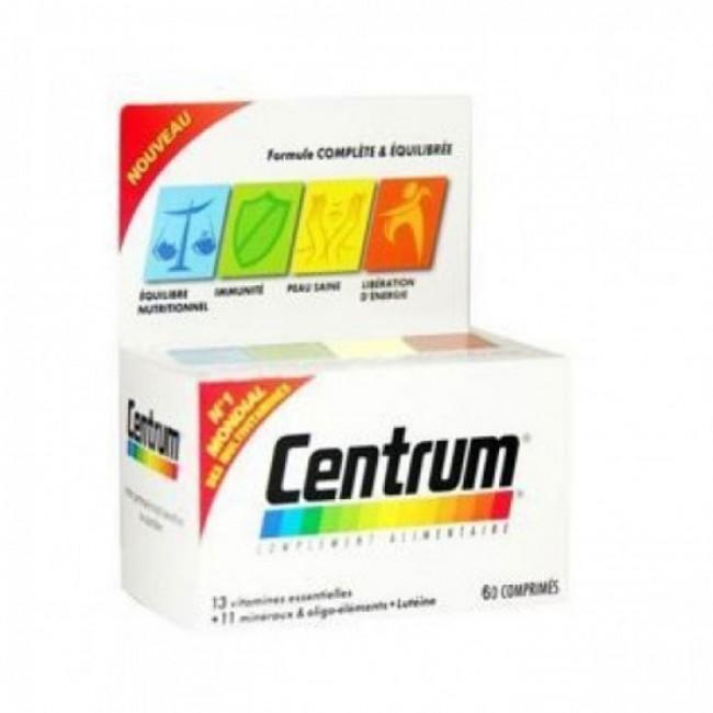 CENTRUM A-Z LUTEIN TBL A60