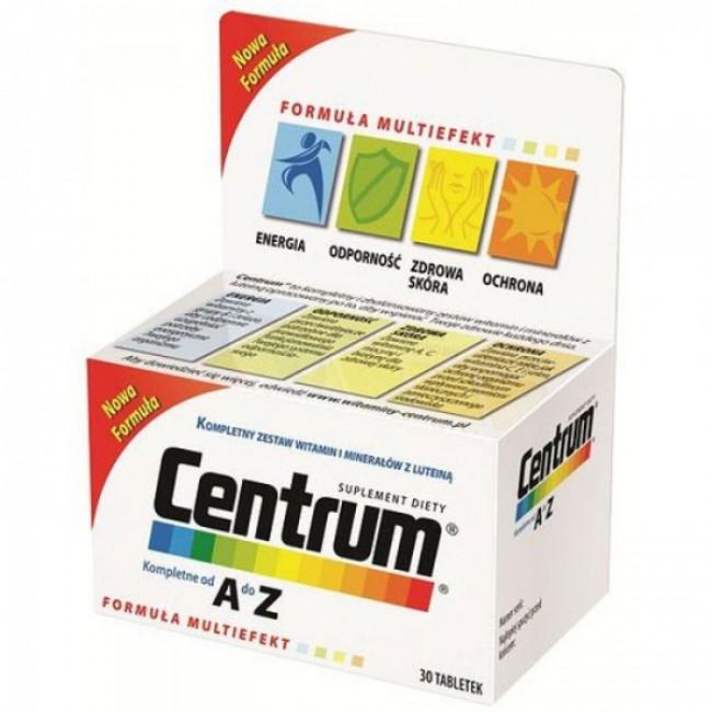 CENTRUM A-Z LUTEIN TBL A30