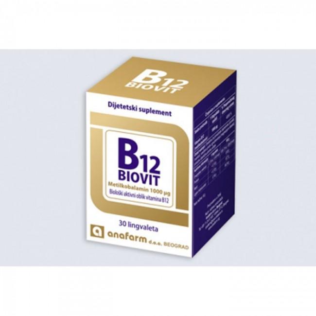 BIOVIT B12 LINGVALETE