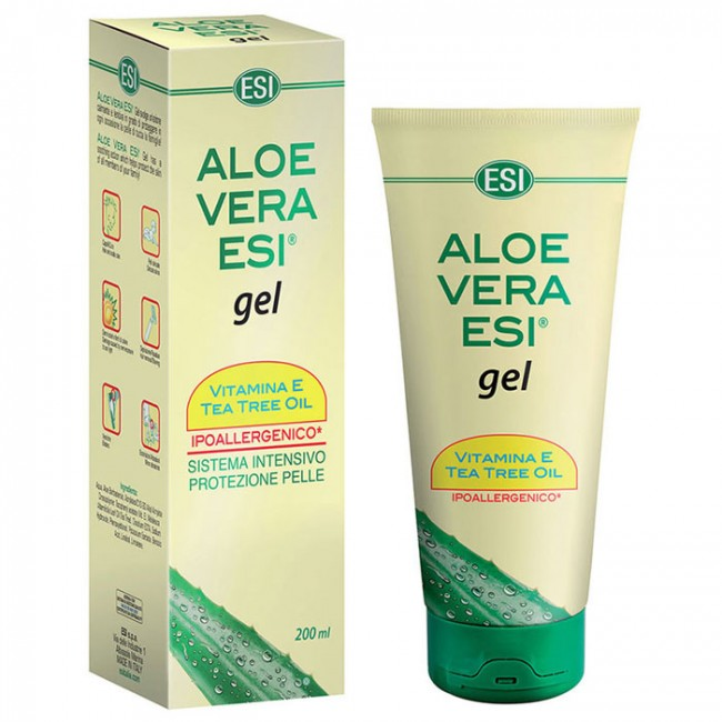 ALOE VERA GEL, VITAMIN E I ČAJNO DRVO 200ML