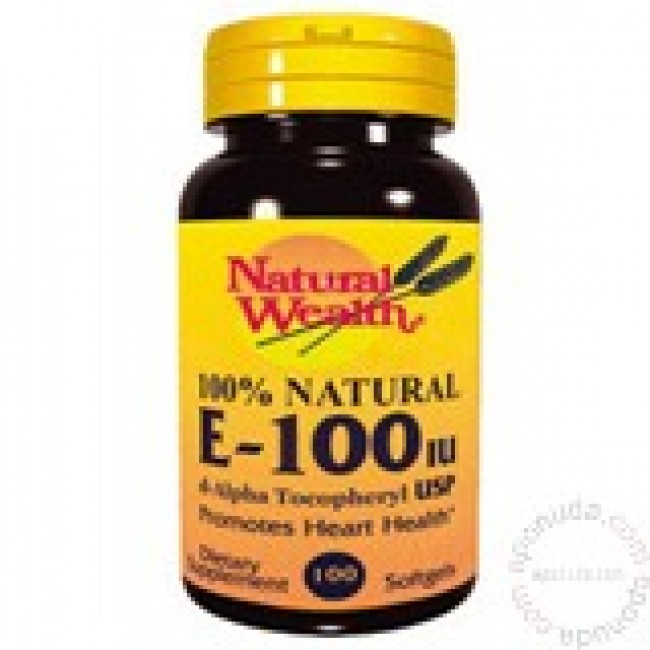 NATURAL WEALTH VITAMIN E KAPSULE 100IJ A100